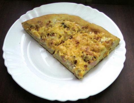 Пицца на жидком дрожжевом тесте рецепт